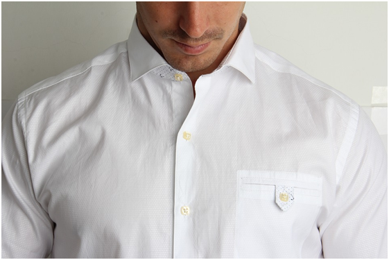 How to make a white shirt exciting